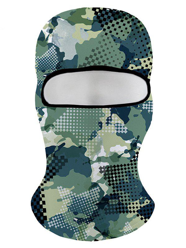 Best Winter 3D Green Camo Printed Ski Cap