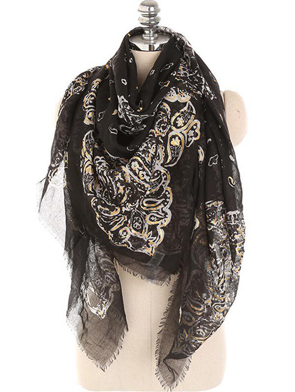 Cheap Lightweight Floral Fringed Winter Long Scarf