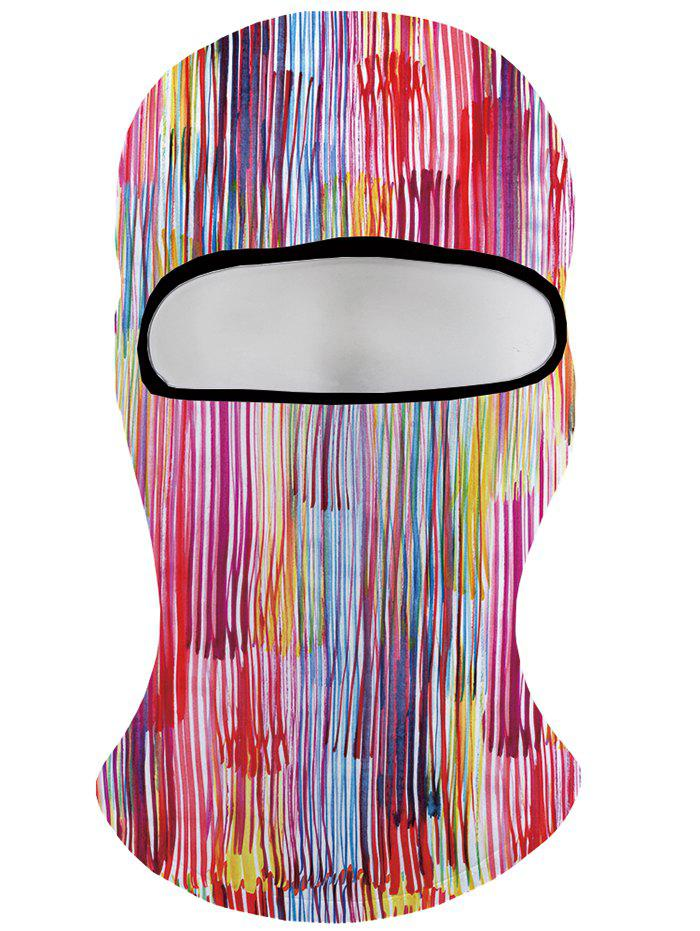 Discount Colored Stripe Printing Winter Beanie