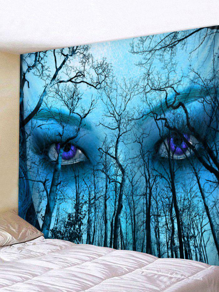 Fashion Forest Eyes Print Wall Tapestry Art Decoration