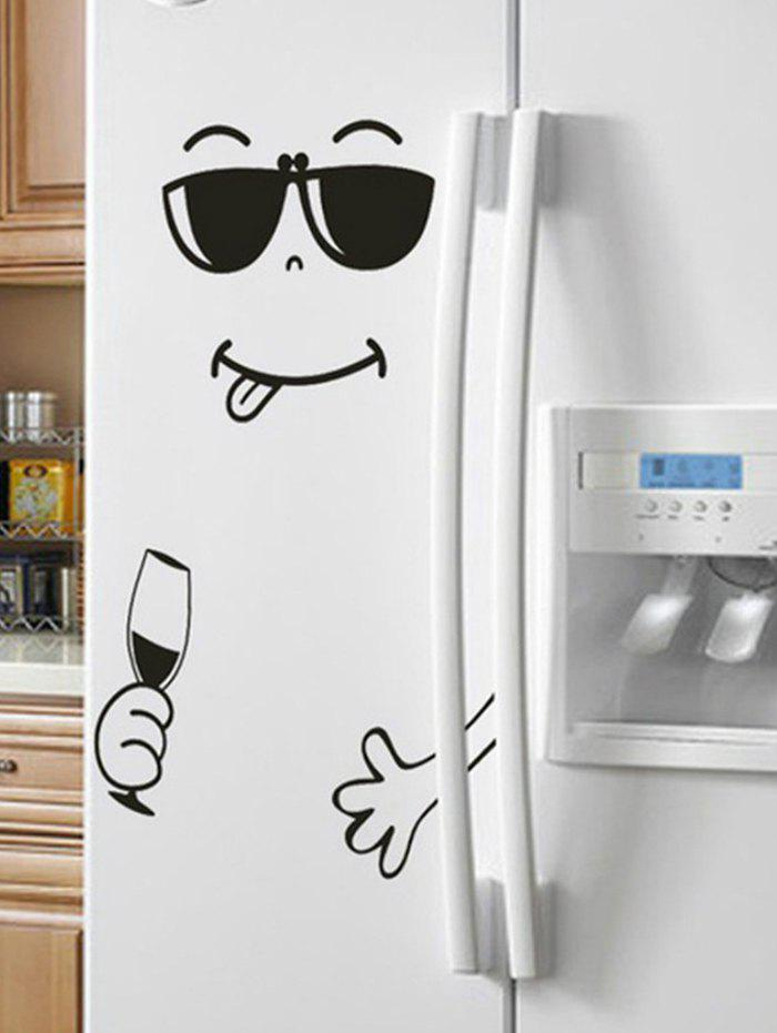 Hot Funny Printed Removable Refrigerator Wall Sticker