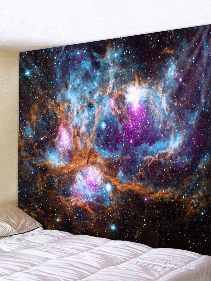 Cheap Wall Hanging Art Universe Galaxy Print Tapestry