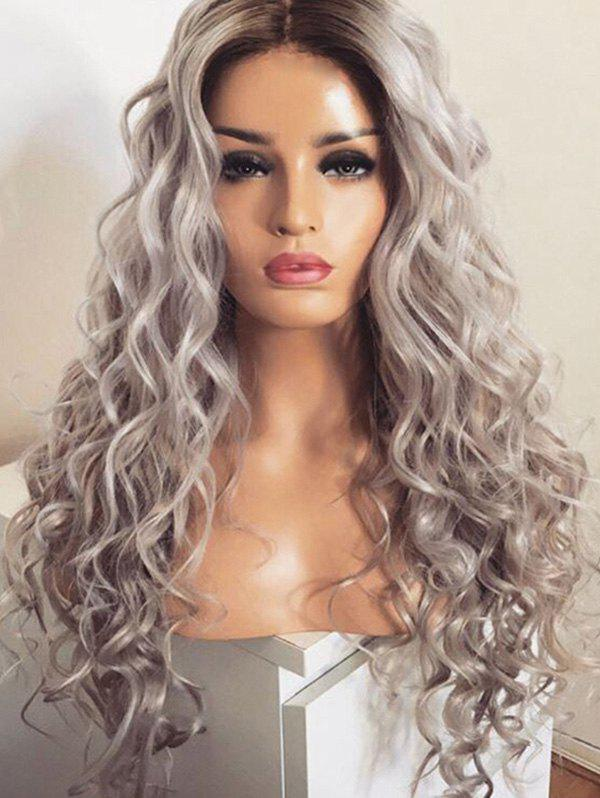 Sale Long Middle Part Colormix Loose Wave Synthetic Wig