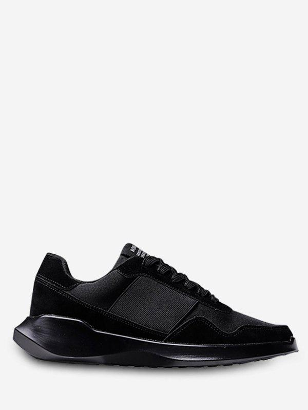Chic Lace Up Chunky Walking Sneakers