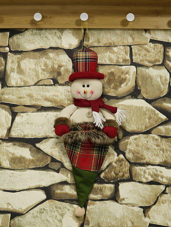 Hot Christmas Deocrations Hanging Gift Doll Bag