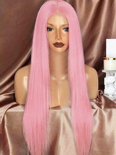 Shop Long Middle Part Straight Synthetic Party Lolita Wig