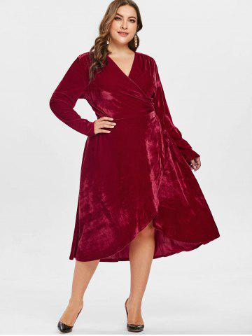 Plus Size Semi Formal Dresses Under 50 A Line Polka Dot And
