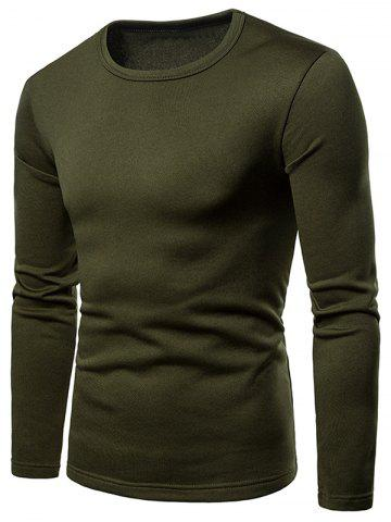 Long Sleeve Whole Colored T-shirt