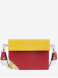 Contrast Color Mini Crossbody Bag -