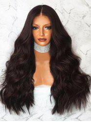 Long Middle Part Body Wave Synthetic Wig -