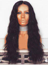 Long Center Parting Corn Hot Wavy Synthetic Wig -