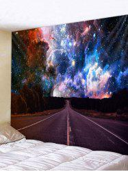 Wall Hanging Art Highway Galaxy Print Tapestry -