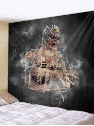 Halloween Mummy Print Wall Tapestry Art Decoration -