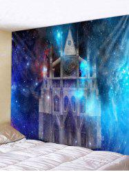 Starry Sky Castle Wall Tapestry Art Decoration -