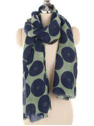 Stylish Polka Dot Printed Warm Scarf -
