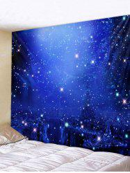 Starry Sky Pattern Wall Tapestry Decoration -