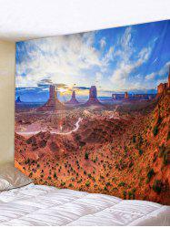 Wall Hanging Art Sunlight Scenic Print Tapestry -