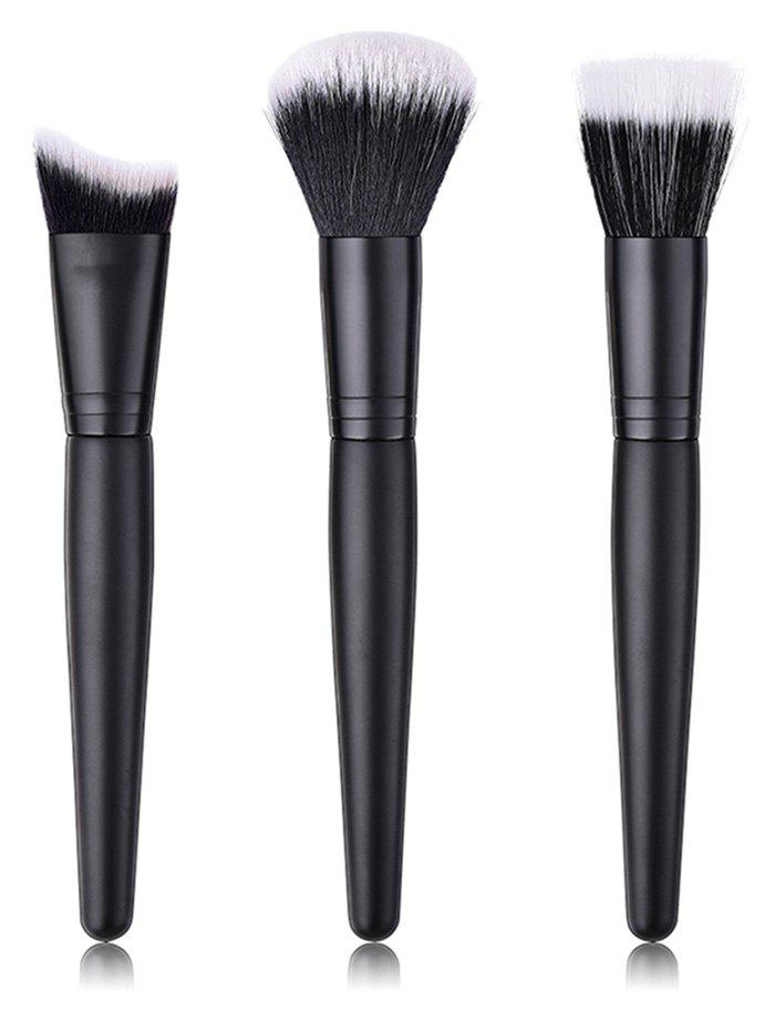 Cheap Professional Ultra Soft Fiber Hair Blush Foundation Cosmetic Brush Set