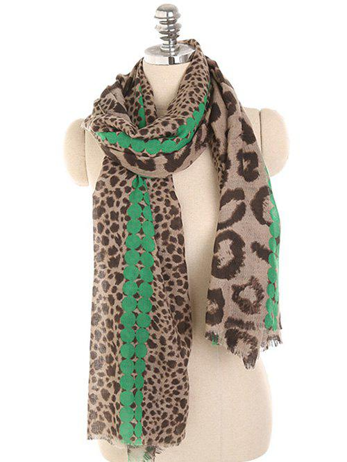 Affordable Leopard Print Lightweight Spring Fall Scarf