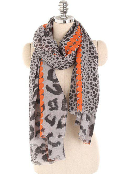 Store Leopard Print Lightweight Spring Fall Scarf