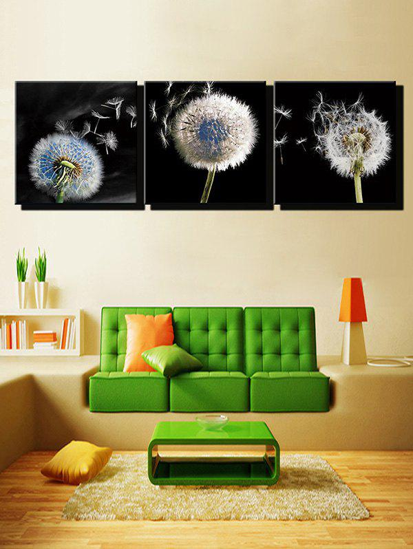 Outfits Dandelion Print Unframed Split Canvas Paintings
