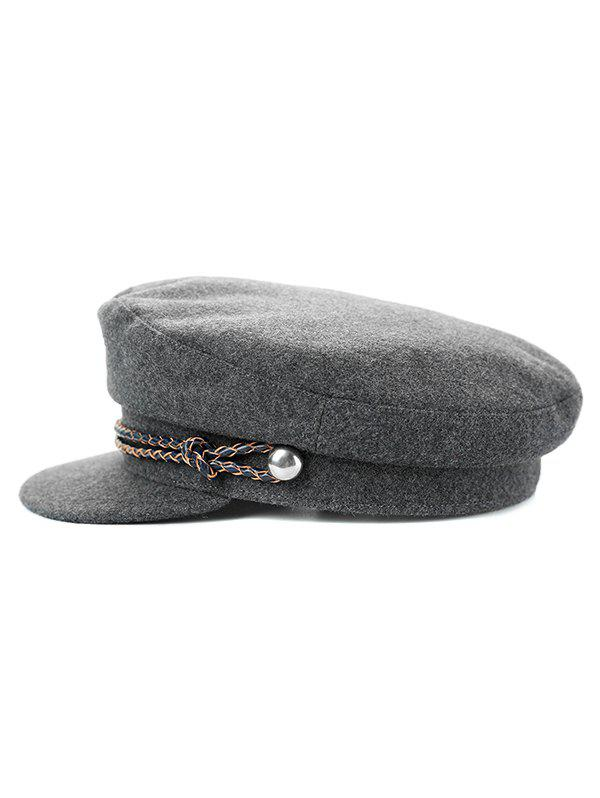 Store Stylish Solid Color Winter Duckbill Hat