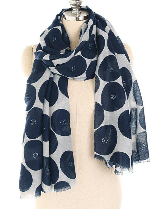 Shop Stylish Polka Dot Printed Warm Scarf