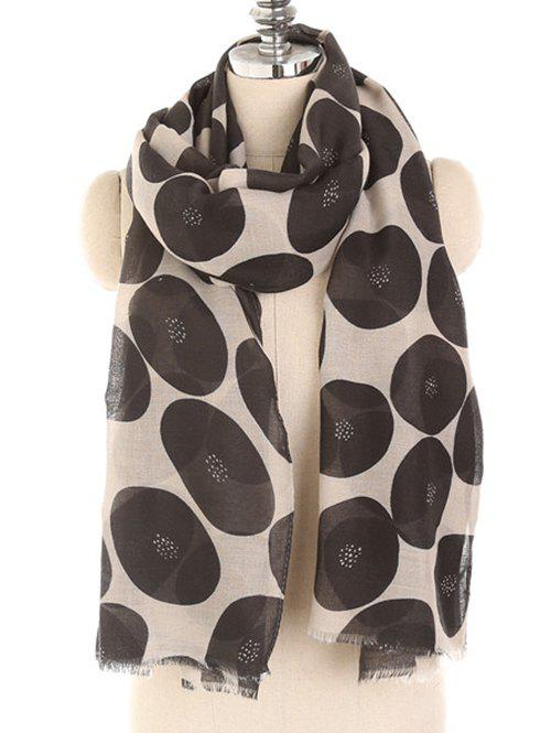 Cheap Stylish Polka Dot Printed Warm Scarf