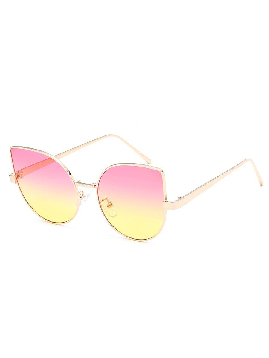Shop Stylish Metal Full Frame Catty Sunglasses