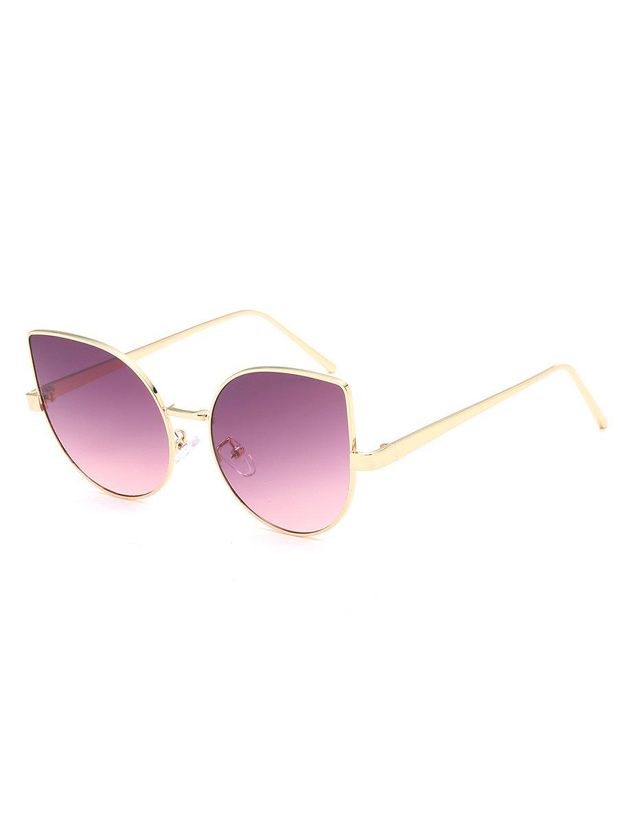 New Stylish Metal Full Frame Catty Sunglasses