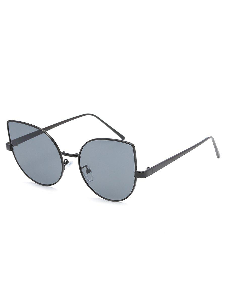 Shops Stylish Metal Full Frame Catty Sunglasses