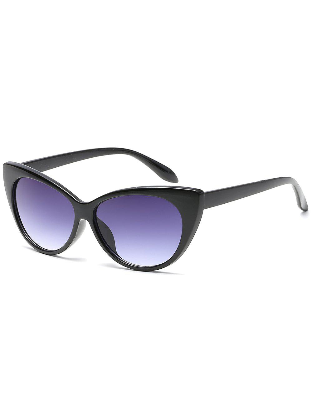 Unique Lightweight Flat Lens Full Frame Catty Sunglasses