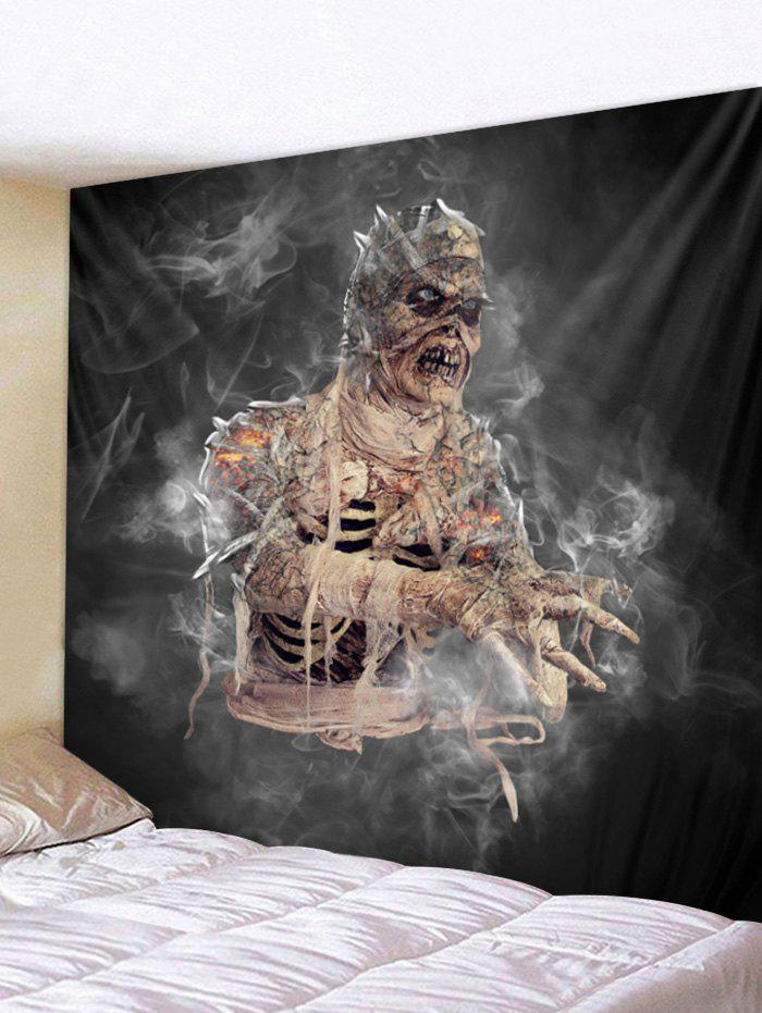 Discount Halloween Mummy Print Wall Tapestry Art Decoration