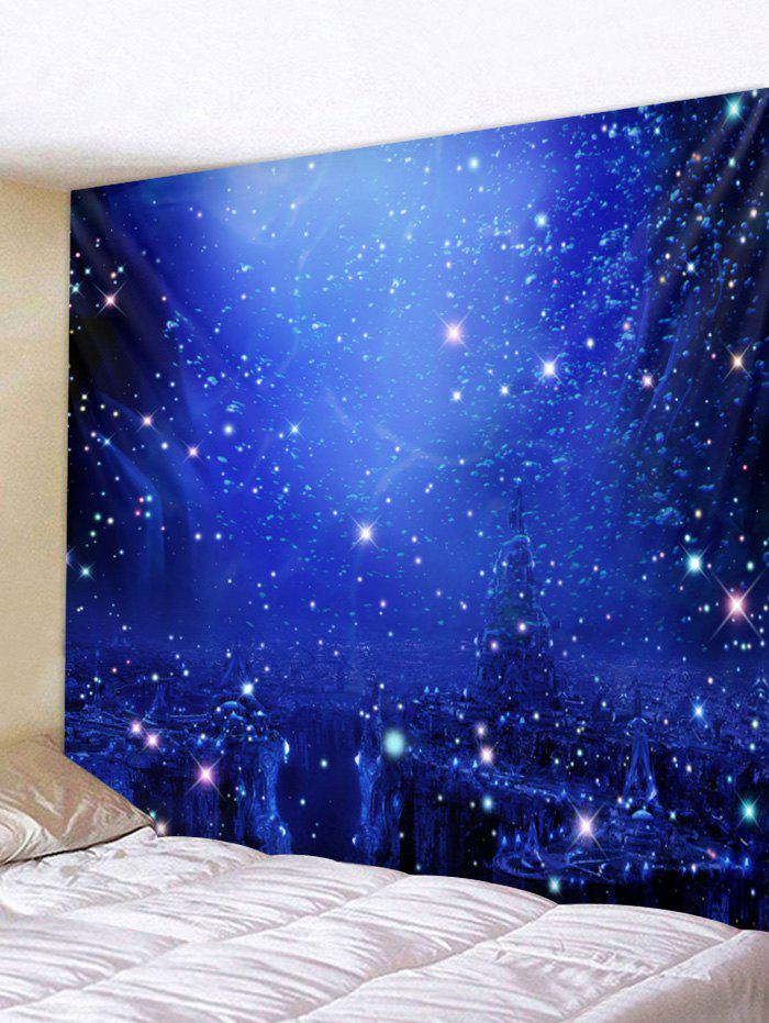 Unique Starry Sky Pattern Wall Tapestry Decoration