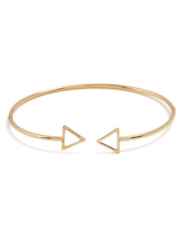 Hot Alloy Triangle Cuff Bracelet