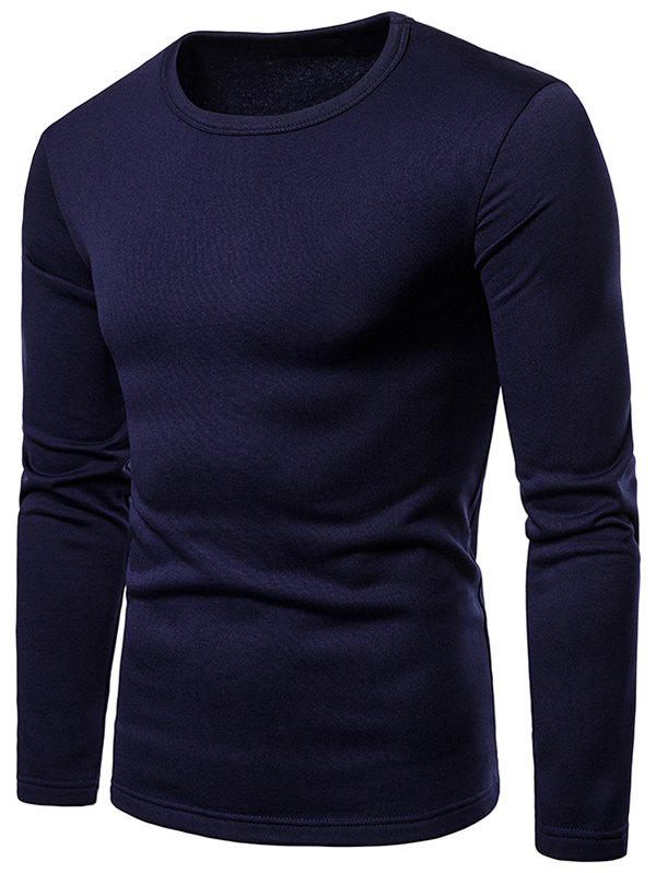Fashion Long Sleeve Whole Colored T-shirt