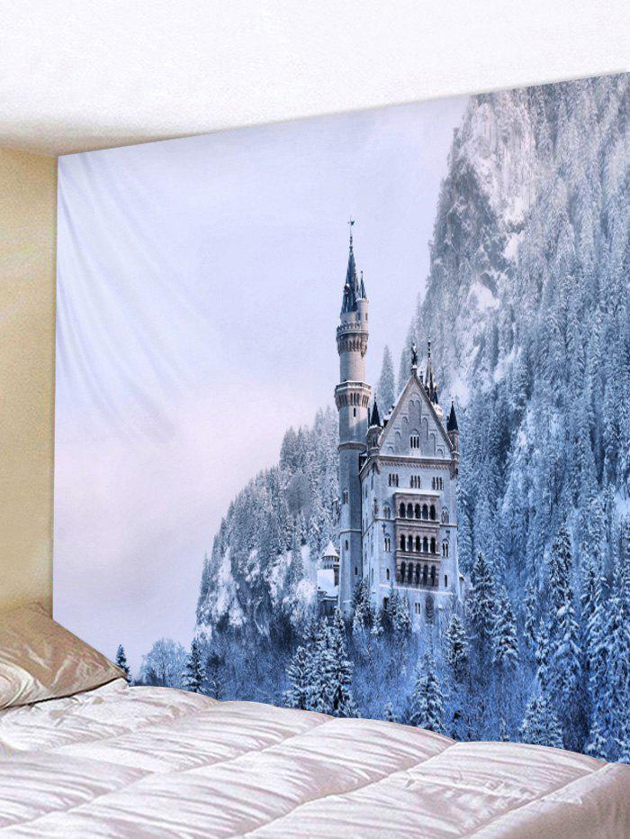 Buy Snow Forest Wall Tapestry Art Decoration