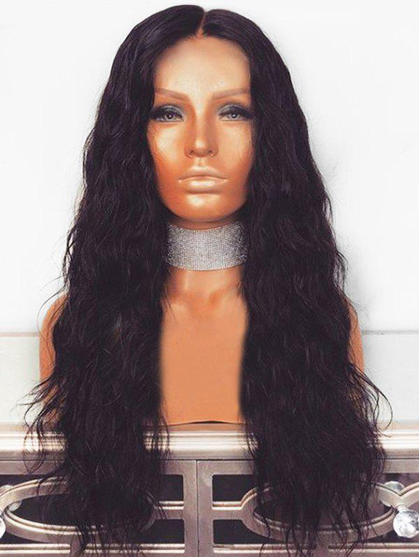 Cheap Long Center Parting Corn Hot Wavy Synthetic Wig