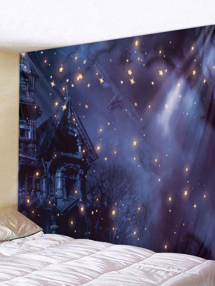 Online Starry Sky Night Wall Tapestry Art Decoration