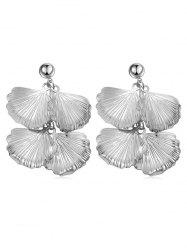 Boucles d'oreilles pendantes Design Leaves -