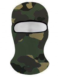 Camouflage Printed Windproof Sport Hat -