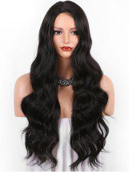 Long Side Parting Body Wave Synthetic Wig -