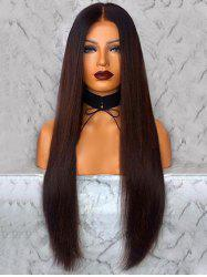 Long Middle Part Straight Capless Synthetic Wig -