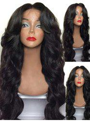 Long Center Parting Body Wave Synthetic Wig -