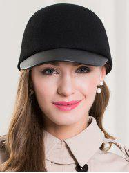 Elegant Solid Color Baseball Hat -