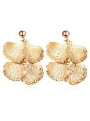 Leaves Design Drop Earrings -