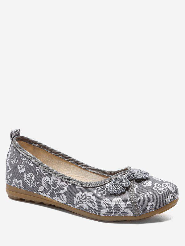 Best Retro Printed Low Top Flats