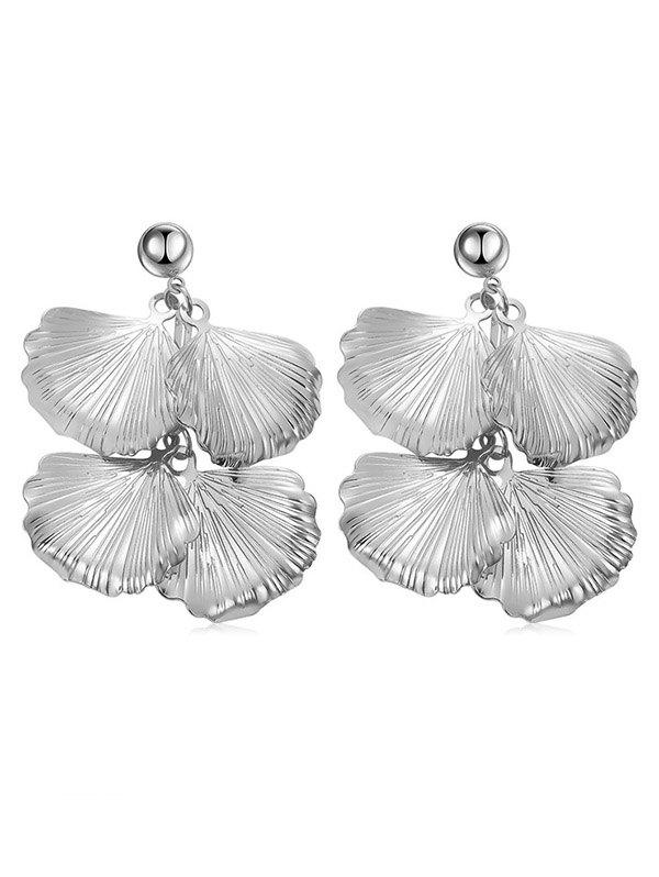 Boucles d'oreilles pendantes Design Leaves