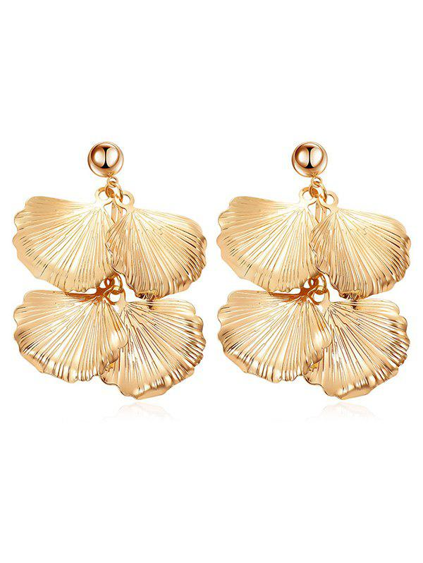 Sale Leaves Design Drop Earrings
