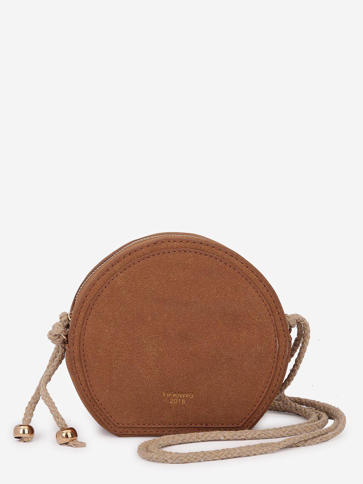 Shop Solid Color Minimalist Crossbody Bag